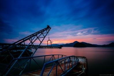 Port Town Sunset-1