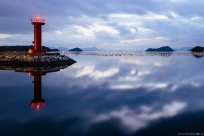 Tongyeong Pyeongrim Lighthouse Dusk-2