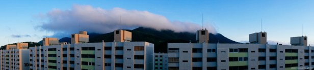 Korea Landscape Photographer Summer Clouds Over Tongyeong-1