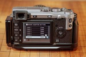 Manual Samyang M42 Lenses With Fuji X-4