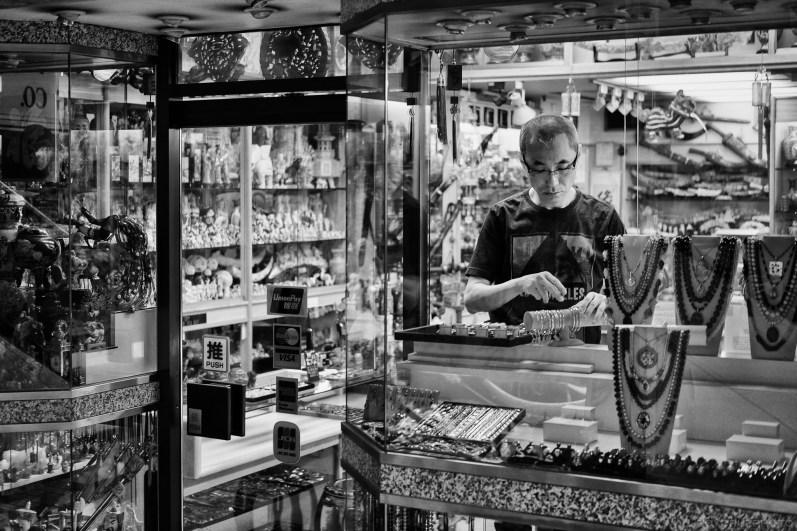 Through the Shopkeeper's Window - Fujifilm X-T1 + XF 35mm f/2 WR