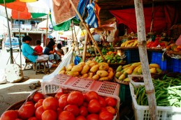 Sagada market