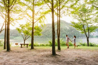 Seoul Nami Island Jade Garden Engagement Pre-wedding Photographer-15