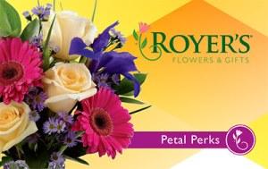 Petal Perks card