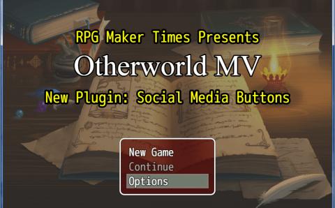 Plugin Update: Social Media Buttons/In-Game Website Plugin (RMMV)