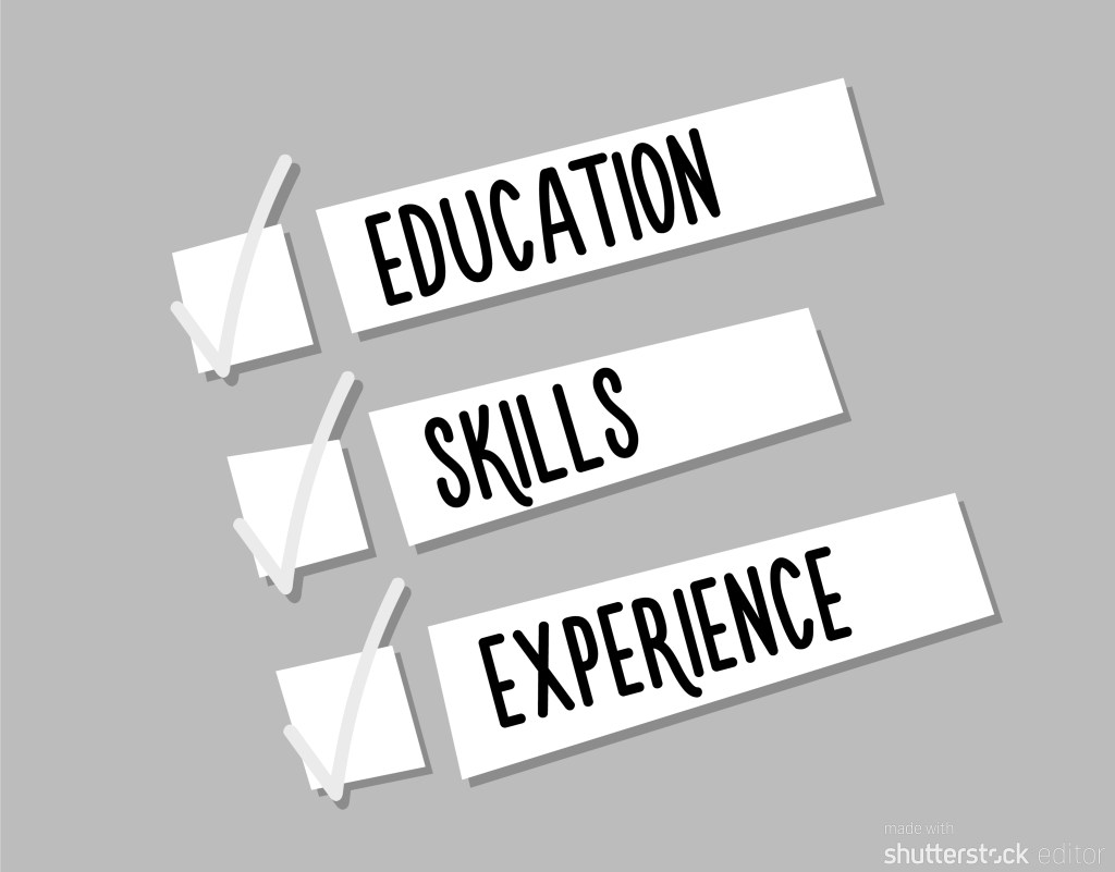 Education, Skills, Experience - The three necessities for roles in environmental management
