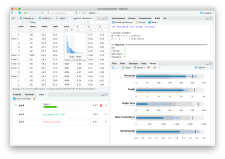 Screenshot RStudio 1.2