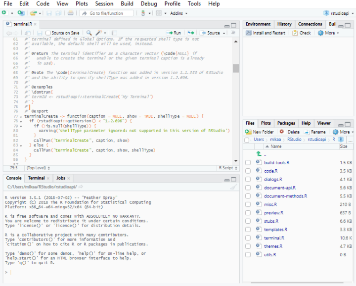 RStudio IDE Custom Theme Support – R-Craft