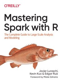 Mastering Spark with R book cover