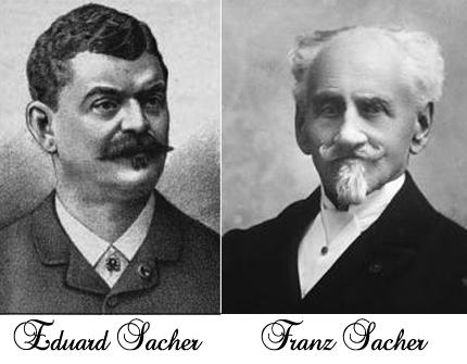 Син и баща - Едуард и Франц Захер