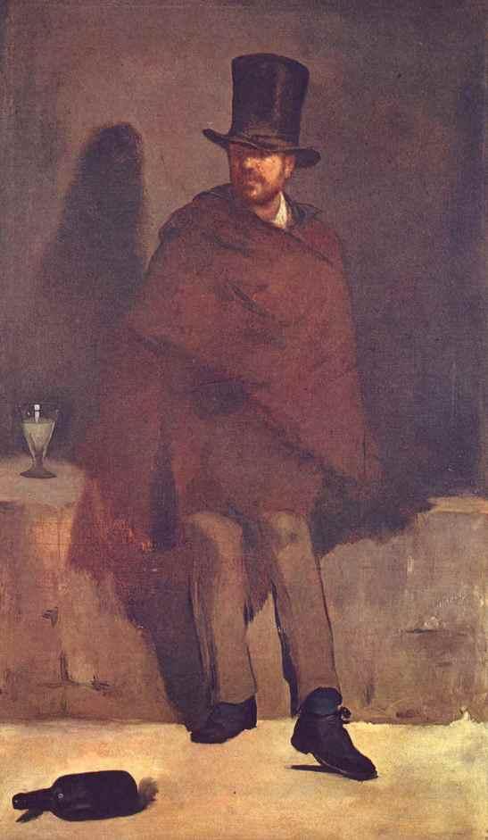 """Едуард Мане: """"Пиячът на абсент"""""""