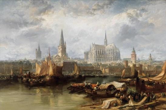 Кьолн - пейзаж от края на 18 век