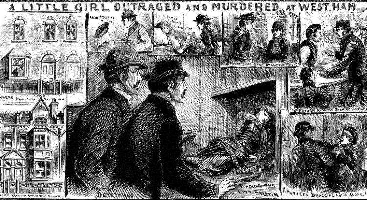 Разследване на убийство на Джак Изкормвача