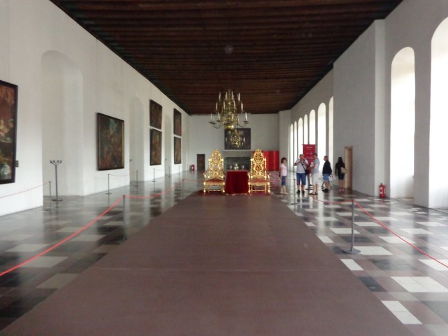 """Балната зала в замъка """"Кронборг"""""""