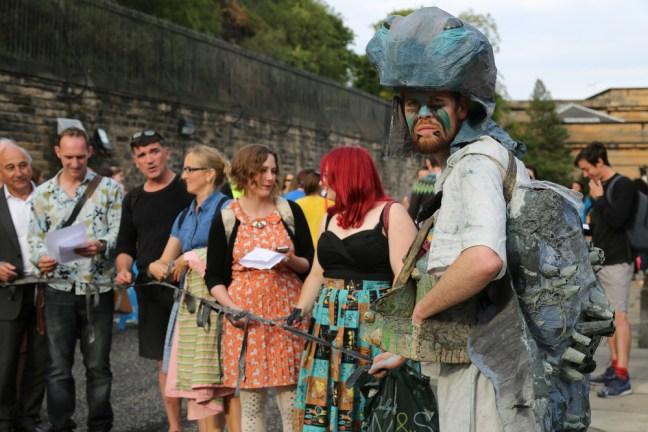 Арт фестивалът в Единбург
