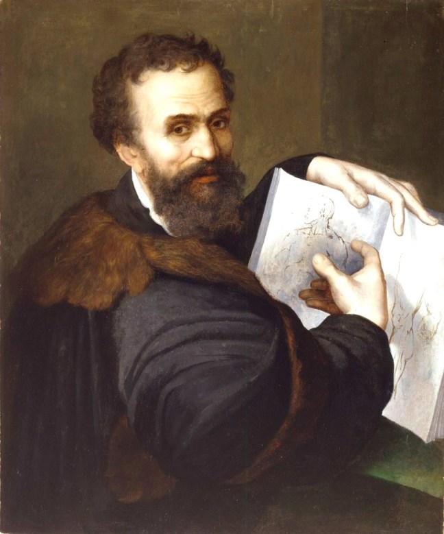 Портрет на Микеланджело