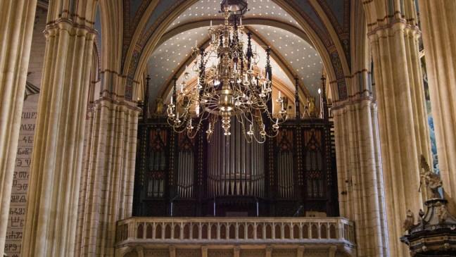 """Катедрала """"Св. Богородица"""" - орган"""