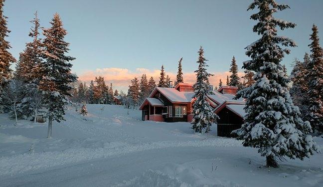 Дървени къщички - Лапландия