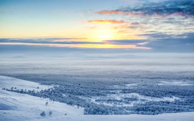 Белоснежната Лапландия