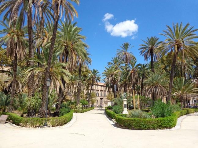 """Палермо, парк """"Бонано"""""""