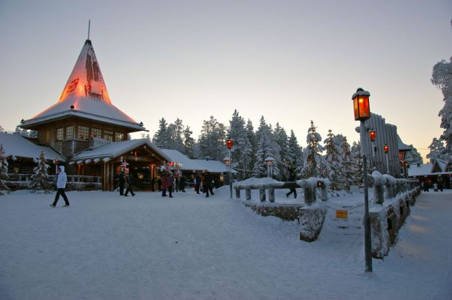 По Коледа в Лапландия е приказно