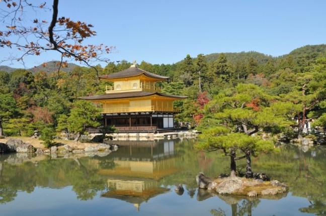 """Киото, Златният павилион """"Кинкакуджи"""""""