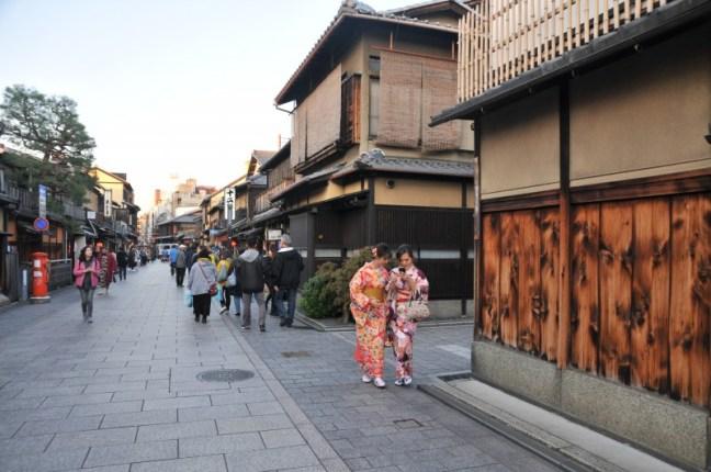 """Киото, в квартала на гейшите """"Гион"""""""