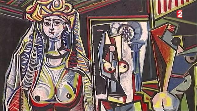 """Les Femmes d'Alger"" - Пикасо"