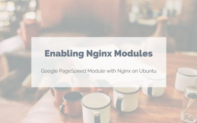 Adding PageSpeed and other Nginx modules on Ubuntu