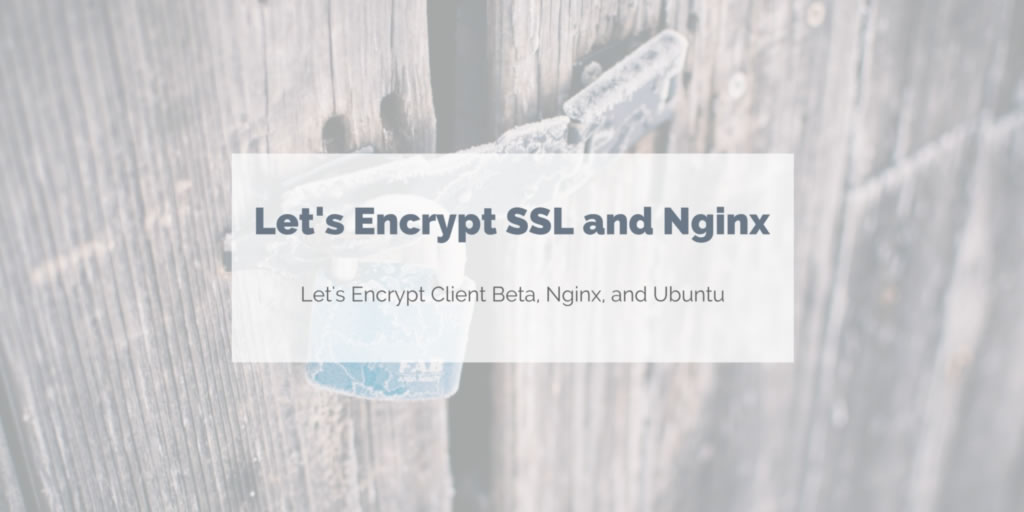 Let's Encrypt SSL Certificates and Nginx | Rude Otter