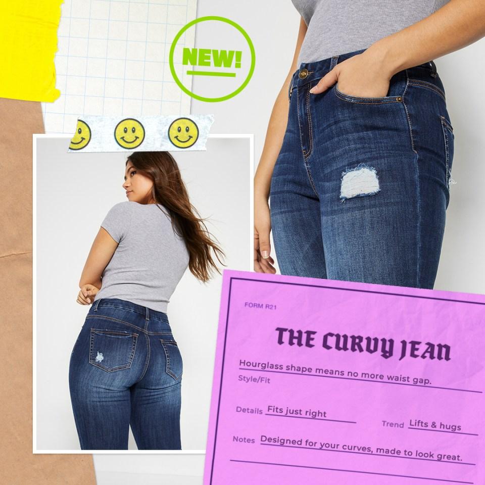 curvy jean fits