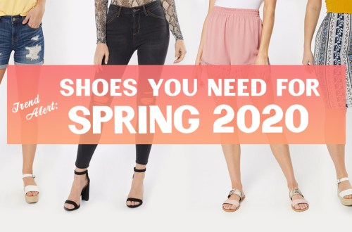shoes for spring