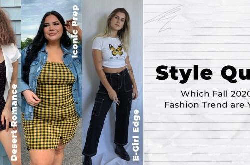 fall 2020 fashion trend