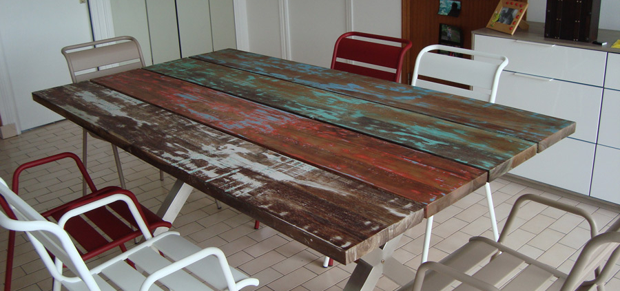 https blog ruedesiam com 2015 01 table bois recycle chez paul roscoff