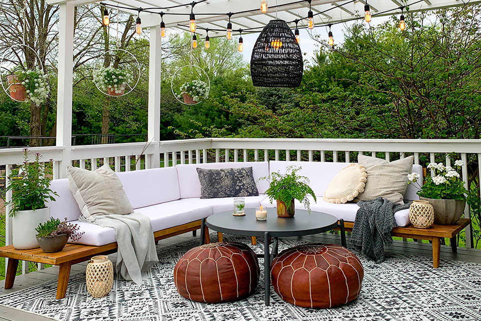 decorating outdoor spaces start with