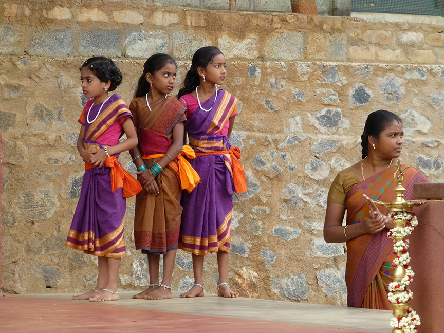 students of Vidya Vanam School