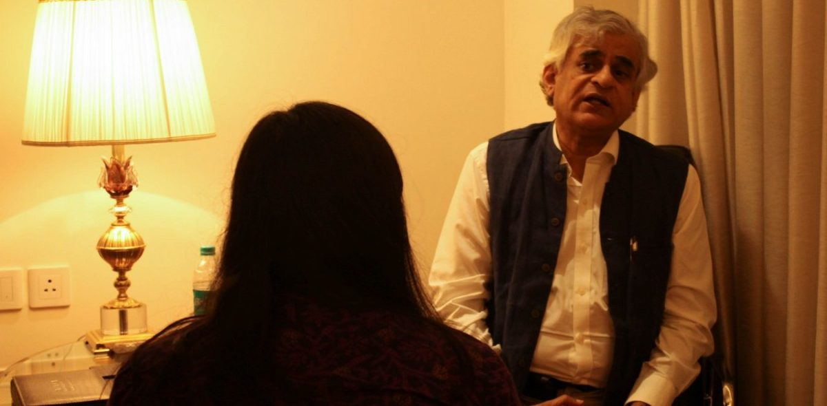P. Sainath interview in the Manipal Journal