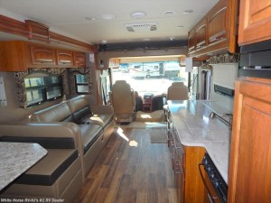 2017 Jayco Precept 35S rear to front view
