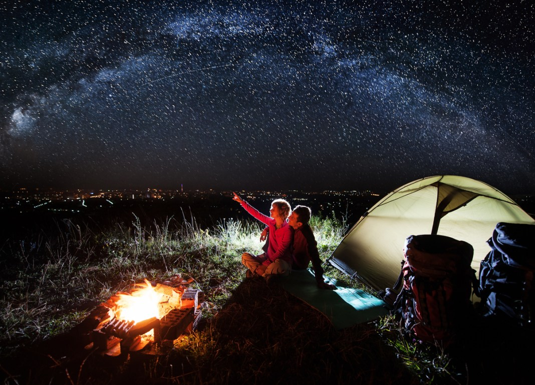Perfect Valentine's Day Camping Getaway