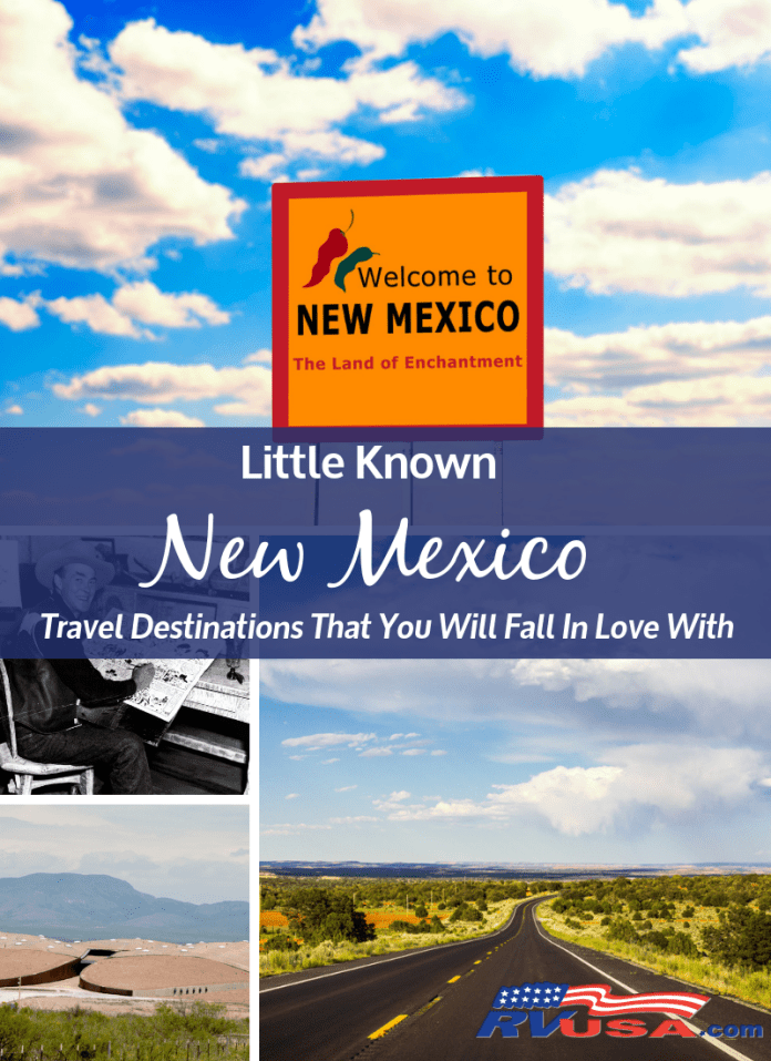 Little known travel destinations in New Mexico