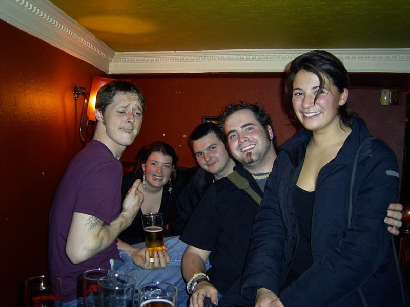 ustin, Tori, Alex, Me and Maggy.