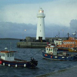 The sea at Donaghadee (c'mon it's just fun to say... let's make a song.