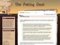 The Peking Duck Redesign