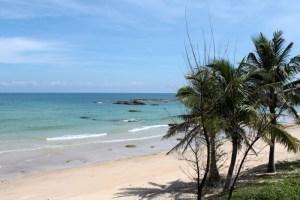 The beach at Yunlong Bay, Wenchang, Hainan