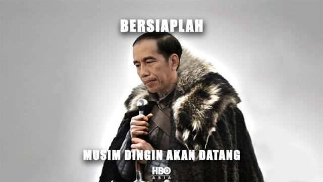 pak jokowi game of thrones, kumparan