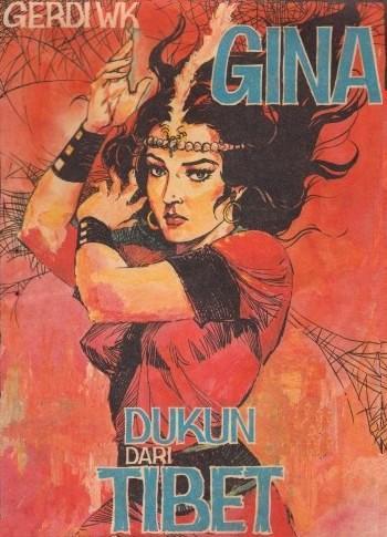 cover komik gina, dukun dari tibet karya gerdi wk (planetsuperhero.wordpress)