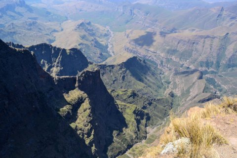 The magnificent Drakensberg