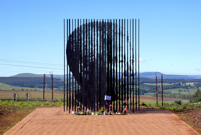Nelson Mandela Capture Site in Howick
