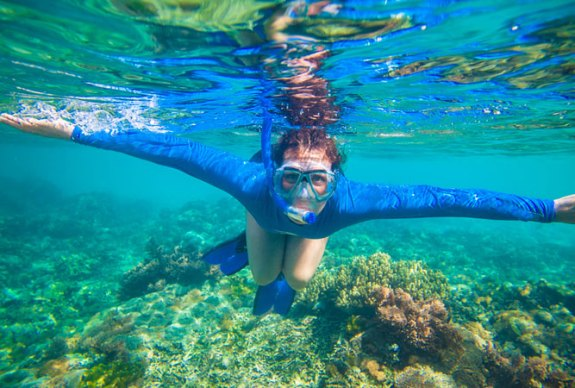 Snorkelling in Cape Town