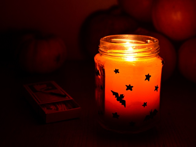 halloween-candela-personalizzata